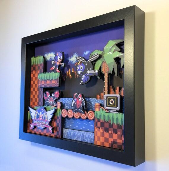 Sonic the Hedgehog 3D Shadoxbox Sega Genesis Mega Drive