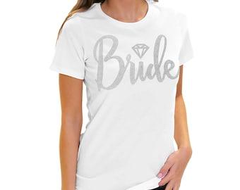 Bridal Party Shirts -  Diamond Icon Bridal Party Shirts, Bachelorette Party Shirts, Bridesmaid Shirts, Bride Hoodie, Bridal Party Totes