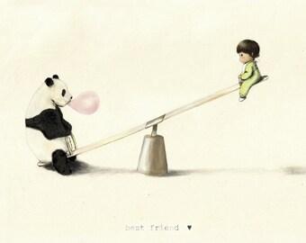 Best Friend-Baby & Panda