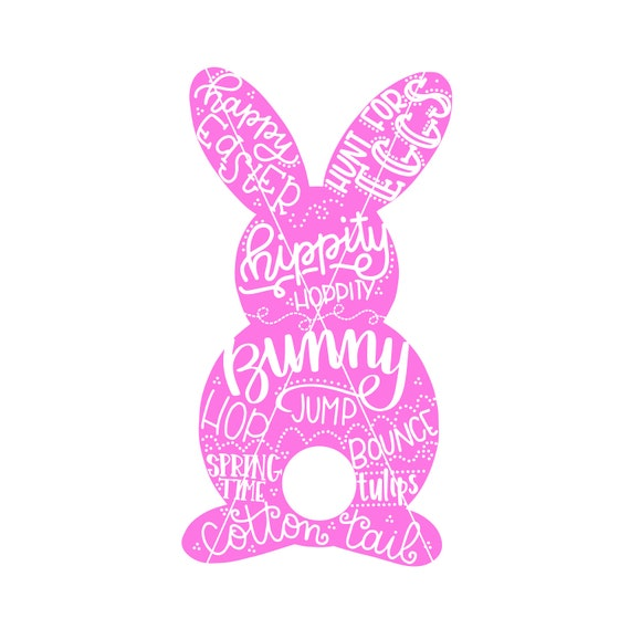 Download Easter Bunny SVG / Easter Cut file / SVG files for Cricut and