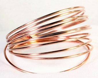 12 gauge Round dead soft Copper Wire 10 feet