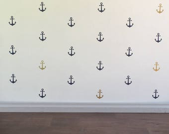 Anchor Wall Decals - Removable vinyl wall decals/stickers