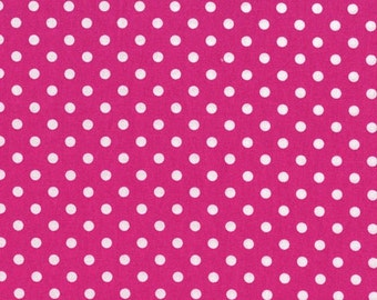 Fuchsia Dumb Dots, from Michael Miller Fabrics