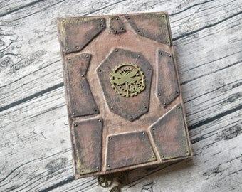Steampunk Junk Journal, Vintage Junk Journal, Vintage Journal, Handmade Journal, Journal Notebook, Travel Journal, Victorian Journal