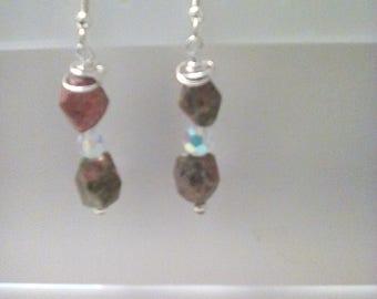 Unikite earrings