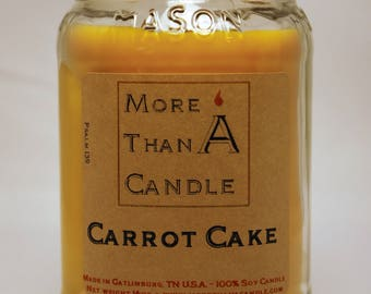 16 oz Carrot Cake Soy Candle