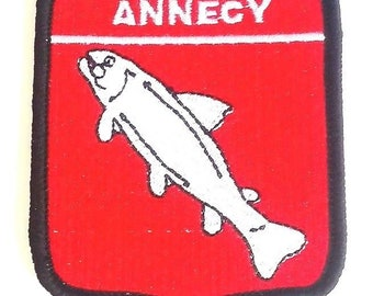 Annecy Embroidered Patch