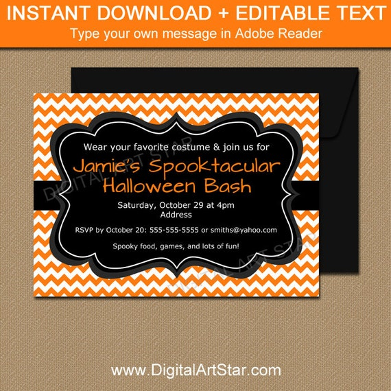 Adult Halloween Invitation Template Adult Halloween Party