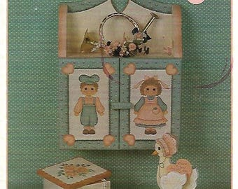Beginners Luck by Marie Cole's Tole Painting Book FI0346