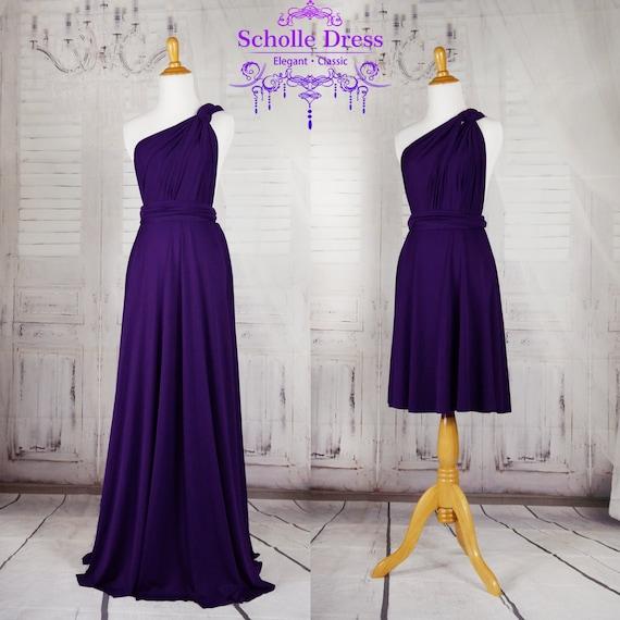 Royal Purple Bridesmaid Dresses