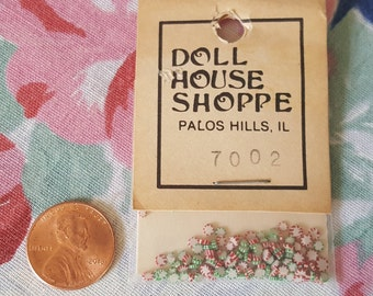 Miniature Dollhouse Christmas Candy Peppermint Holiday Candies 1:12 Scale FS