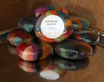 Felted Handmade Soap