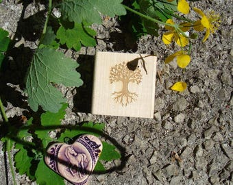 Tree of life stamp personalized TC249