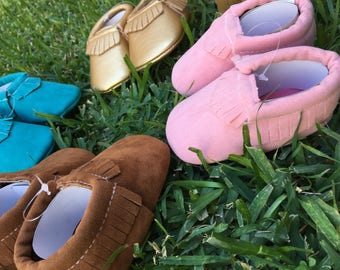 Baby shoes | Baby booties | baby Moccasins | crib Shoes| baby boy shoes | baby girl shoes