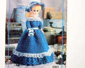American Heritage Dolls - Ladies of Colonial America Book Two - Leisure Arts 2184