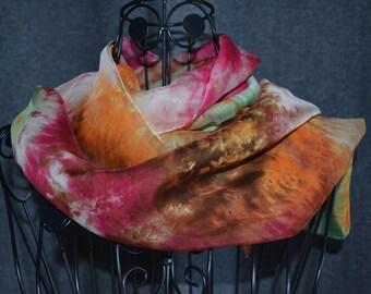 Scarf chiffon - hand roulote shade 12