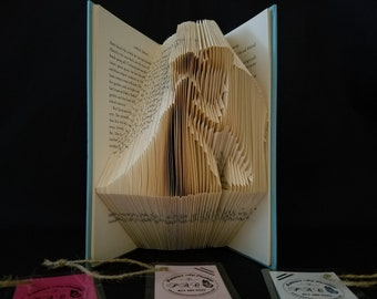 Wedding-Book Art-Best Wedding Present-Folded-Folded Sculpture-Wedding Present