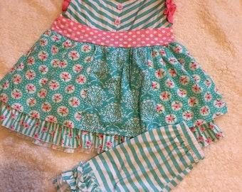 Floral short set