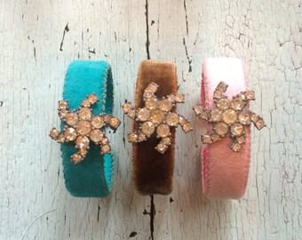 Narrow Adjustable Cuff Bracelets