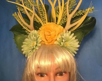 Forest Antler Headpiece