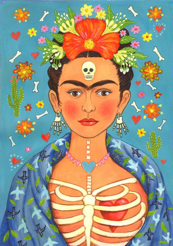 Greetings card fridas heart for those who like this item m4hsunfo