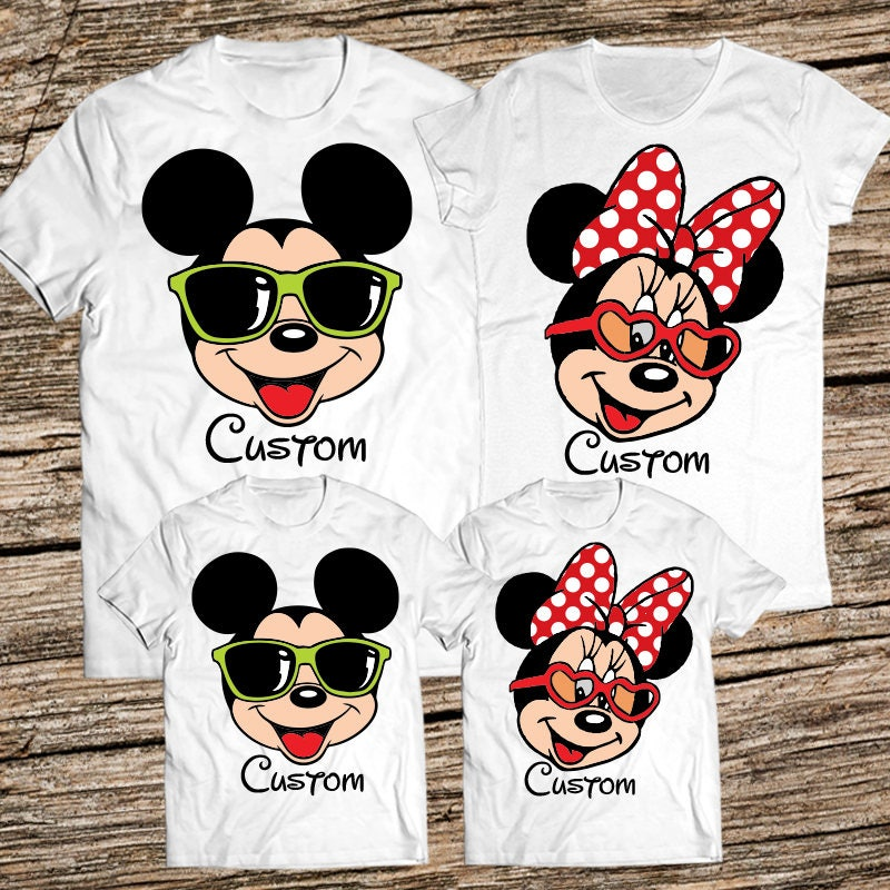 Personalized disney shirts for the family disney family for Order custom shirts online