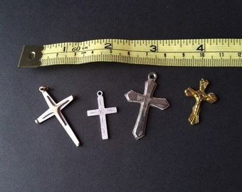 Mixed Lot Of Assorted Crucifixes