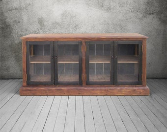 Console Cabinet, Sideboard, Media Console, Reclaimed Wood, TV Stand, Buffet, Handmade