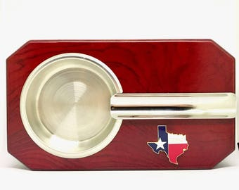 State of Texas Cigar Ashtray – Color