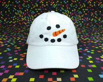 Snowman Cap
