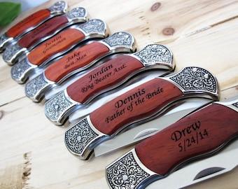 Set of 6 Groomsmen Knife