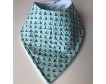 Mint Triangle Bib
