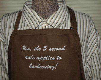 Firemen's Cook Book. Mens Cooking Apron,Top Chef