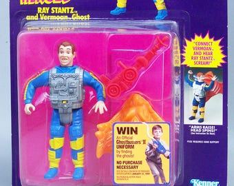 Vintage The Real Ghostbusters Ray Stantz (MOC) Mint On Card 1986