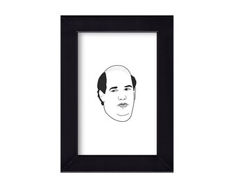 Kevin Malone Wall Clock Wall Clock The Office Clock Unique