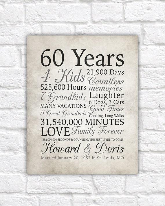 Parents 60th Wedding Anniversary Poems