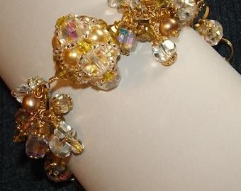 Anastasia, Woven sphere bracelet