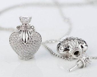 Perfume Pendant Necklace