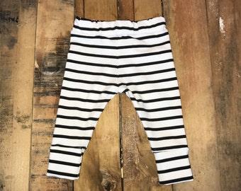 Striped Leggings & Shorties