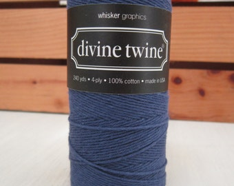 Navy Twine ~ Divine Twine ~ Navy ~ Solid ~ 15 Yards ~ Bakers Twine