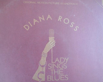 Diana Ross - Lady Sings The Blues vinyl record