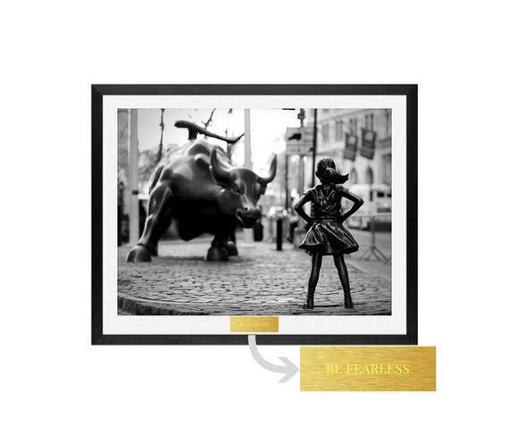 Fearless Girl by ModernMemoryArt