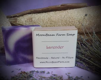 Lavender Soap - Natural and Handmade