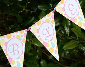 Bubbles Birthday Bash PDF Banner