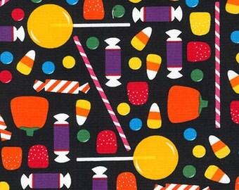 Ann Kelle, Pumpkin FUN, Halloween Candy on Black, Yard