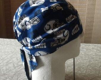 Colts Do-Rags, Skull Caps, Chemo Caps, Headwear
