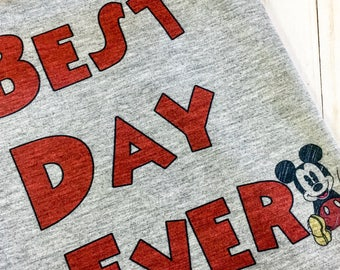 Mickey shirt ~ Disney best day ever shirt ~ spiral best day ever shirt ~ Disney shirts ~ disney family shirt ~ Disney vacation shirts