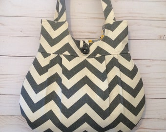 Gray chevron purse, best seller, grey purse, mustard yellow purse, women purse, shoulder bag, chevron bag