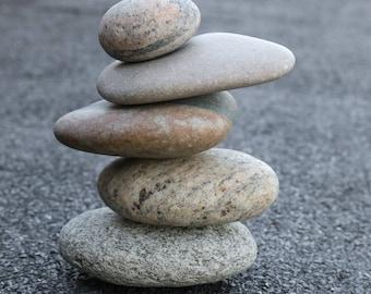 Meditation Altar Stones - Relaxation Gift - Mindfulness - Balance Toy - Zen Garden - Baltic Sea Pebbles