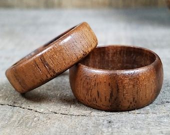 Wooden Ring - Womens Wooden Ring - Mens Wooden Ring - Walnut Wood - Wooden Rings For Men - Wooden Wedding Band - Mens Engagement Ring